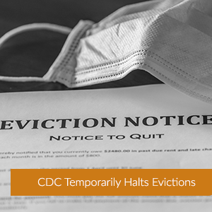 CDC Temporarily Halts Evictions