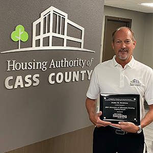 Strehlow Recognized with Champion of Affordable Housing Legacy Award